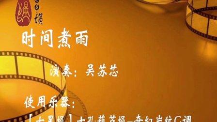 【七星埙】吴苏芯《视频煮雨》十孔岩纹葫芦埙时间鱼6图片