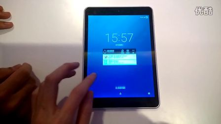 諾基亞N1平板雙擊屏幕喚醒靈敏度測試