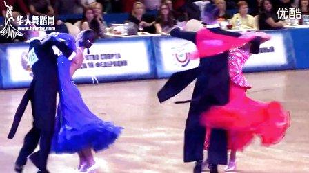 2015年俄罗斯体育舞蹈锦标赛决赛华尔兹Глухов Алексей - Глазунова Анастасия