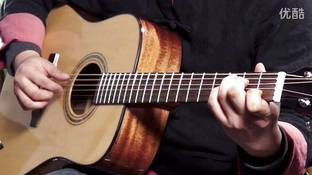 指弹吉他演奏家柴海青《月亮代表我的心》雷蒙斯吉他RD86M视听