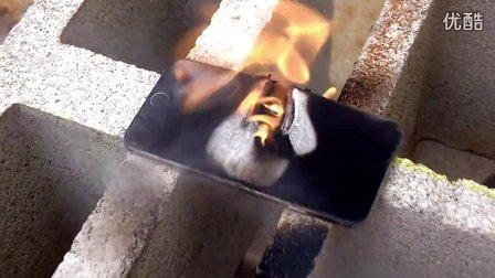 虐机视频:乙炔气割炬秒杀 iPhone 6