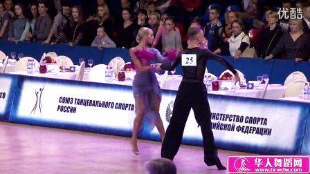 2015年俄罗斯青年体育舞蹈锦标赛四分之一恰恰Батырев Юрий - Барабанова Милена