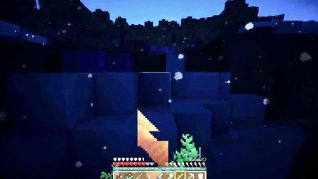 我的世界Minecraft【大橙子视角】植物魔法生存-12-大橙子变成了鱼-