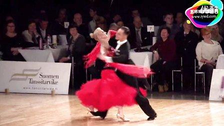 2015年WDSF世界体育舞蹈大奖赛(芬兰站)第三轮华尔兹Denis Molkov - Natalia Osyko, RUS