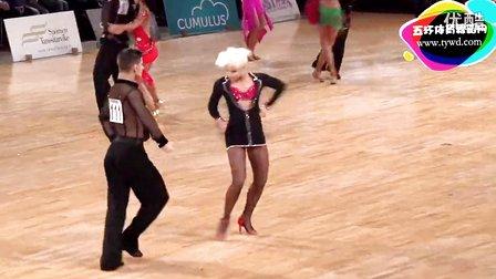 2015年WDSF世界体育舞蹈大奖赛(芬兰站)第二轮斗牛Smolyaninov - Oinas, FIN