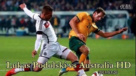 推射扳平!波多尔斯基vs澳大利亚个人秀