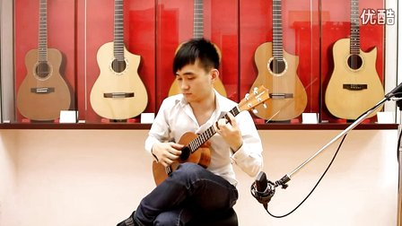 ukulele情非得已谱子