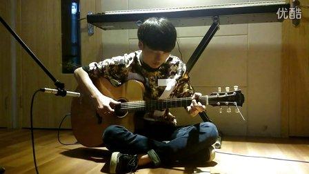 正大指弹吉他《枫桥夜泊》by 严瀚涛  CJ-400