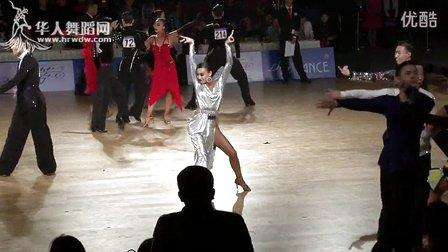 2015年中国体育舞蹈公开赛(武汉站)21岁以下组A级L复赛1伦巴