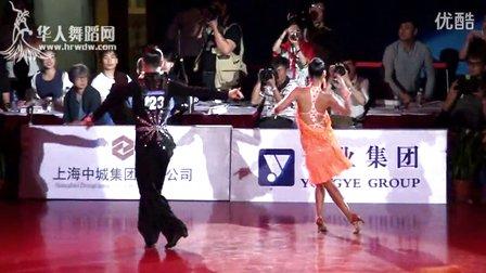 2015年中国体育舞蹈公开赛(上海站)职业组L决赛SOLO桑王军 贾博麟