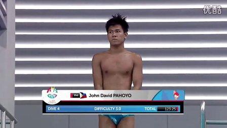 菲律宾的跳水选手简直太逗。。。你们两个是故意的吧。。。