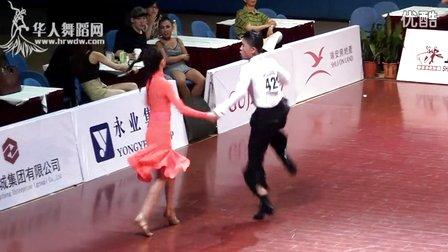 2015年中国体育舞蹈公开赛(上海站)14岁以下组A级L决赛牛仔【VIP】安邦 张湘雯0