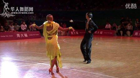 2015年CBDF中国杯巡回赛(石家庄站)表演舞桑巴2Klemen Prasnikar  Alexandra Averkieva