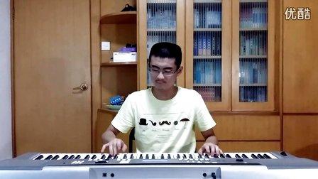 哆啦A梦(电子琴演奏)_tan8.com