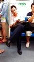 男子地铁偷摸美女大腿,他说他是不小心
