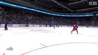 冰球全明星表演上的一个超精彩射门!