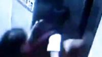遭遇电梯门夹脚, 韩国女學生险被扯断大腿