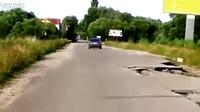 战斗民族的公路。。。哈哈哈。。。