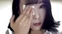 擦一擦五官不见了,韩国妹子展示惊人卸妆过程