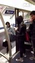 地铁上的贱人,哈哈哈,太踏马坏了