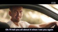 See You Again MV速度與激情1-7經典重溫