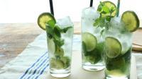 夏日炎炎, 有這杯清涼解暑的薄荷檸檬蘇打水就夠了!