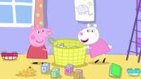 寶寶巴士433 寶寶刷牙 洗澡 做冰淇淋 超級飛俠變形警車珀利小豬佩奇玩具