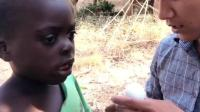 非洲紀實: 當地的貧民窟黑人小孩, 要是每天都有一只雞蛋吃就好了!