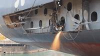 巨型輪船是如何維修的? 看完這個視頻長知識了