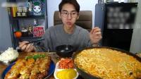 大胃王奔馳小哥吃5袋煮泡面和2碗米飯, 你吃過泡面調料拌米飯嗎?