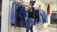 一線品牌【格瑞吉奧】牛仔褲 品牌女裝尾貨批發-深圳品牌女裝庫存批發