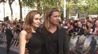 《僵尸世界大戰》全球首映禮 皮特與朱莉攜手亮相