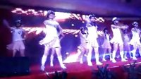 武漢群光廣場2013年度尾牙顧客服務課打氣舞bra bra bra