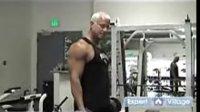 啞鈴二頭肌訓練器舉重運動的初學者