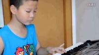 黄子煜电子琴演奏《陕北民歌》