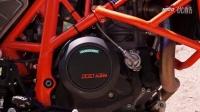KTM 690 Duke R 摩托车跑山压弯视频