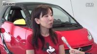 梅賽德斯·奔馳日本的小型車品牌「智能」的電動汽車(EV)迪斯尼的角色「米老鼠」主題 ベ