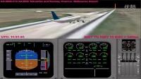 阿聯酋航空EK407航班擦尾事故模擬