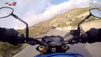 2015 款铃木 GSX-S1000 测试视频高清压弯