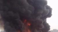 西安雁錦花卉市場發生大火