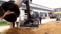 挖掘機式打樁機的價格與圖片盡在凱澳1866327 0963