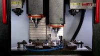 景耀數控雙主軸、雙刀庫、雙通道控制系統的立式加工中心(IIZ6040CNC)
