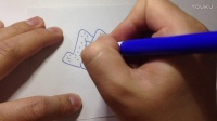 手繪美食烤雞翅的畫法(超清)