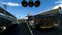 """蘭博基尼centenario 15級車跑7-3暫停大法(此段視頻手速太快,錄屏語音跟不上。此處看到的閃屏是快速點擊""""暫停""""和""""繼續游戲""""的結果)"""