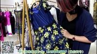 【利寶妮】17夏裝 臺灣大碼中年裝哥芙妮安姬曼風格折扣女裝貨源