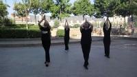 張老師和學生晨練之養生舞