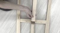 松木畫架安裝視頻