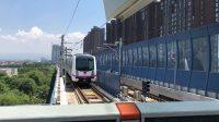 西安地鐵三號線會車