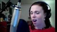 網紅女生海豚音叫板迪瑪希! 家中翻唱《第五元素》神曲毫不費力