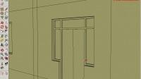 衛老師SketchUp草圖大師教程:10.3.3利用立面圖建模